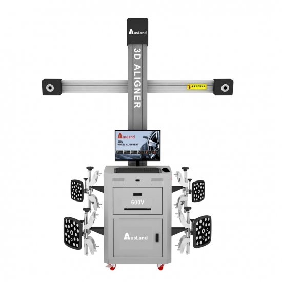 Muti-Station Manual Tracking 3D Wheel Aligner